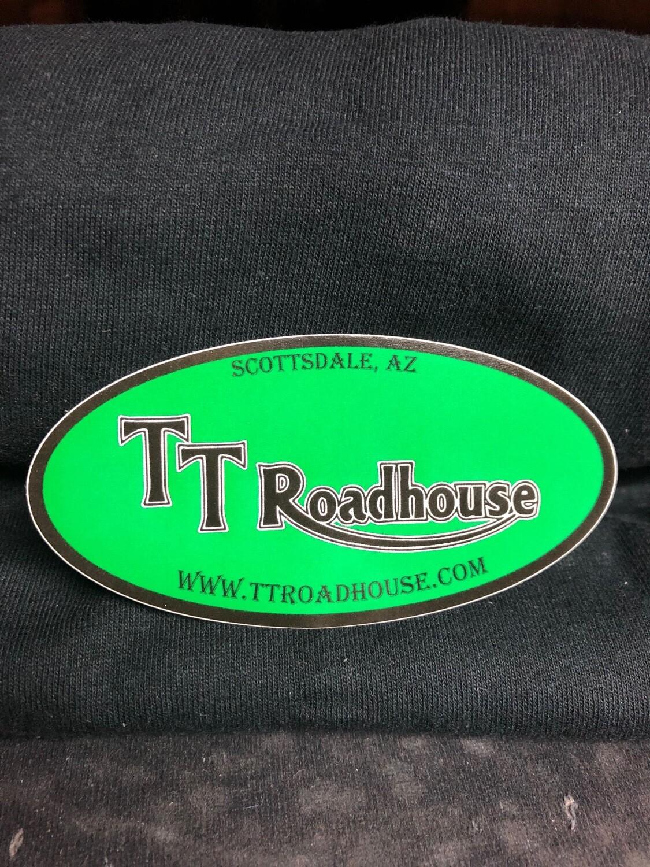 TT Roadhouse Sticker (Oval)