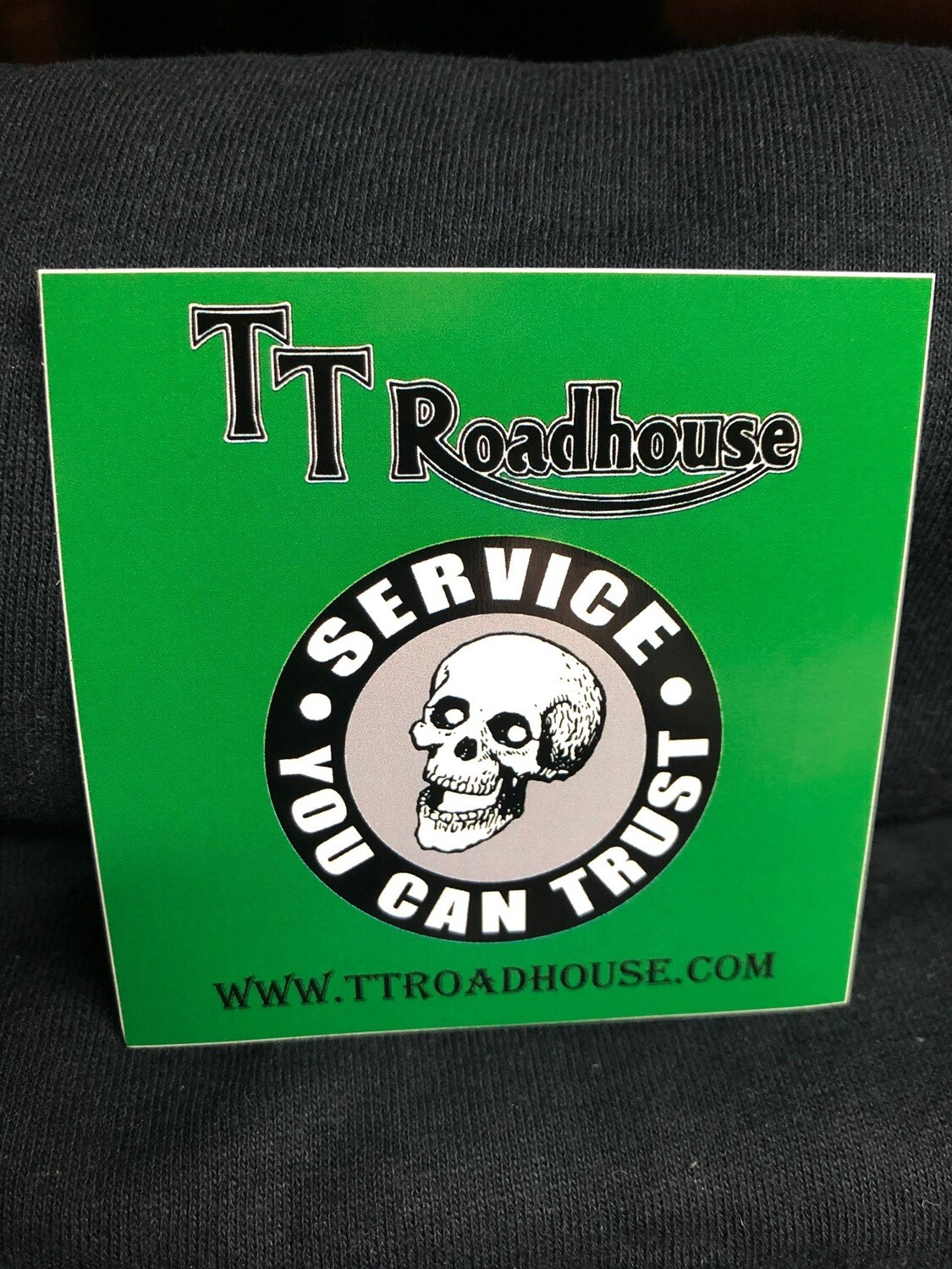 TT Roadhouse Sticker (Square)