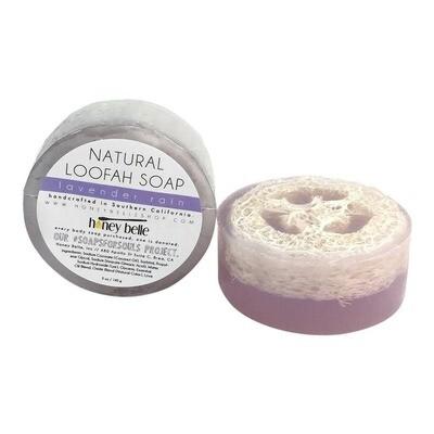 Loofah Soap - Lavender Rain