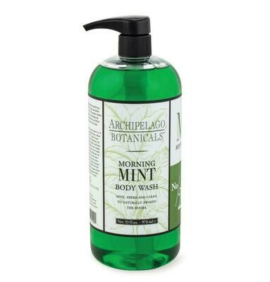 Archipelago Morning Mint Body Wash 33oz