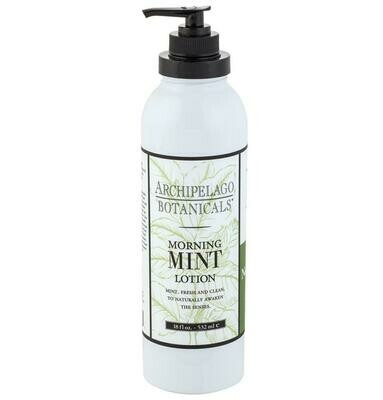 AB mint body lotion