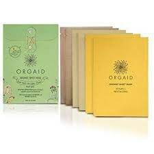 Orgaid Sheet mask - 4 pack - Multi pack