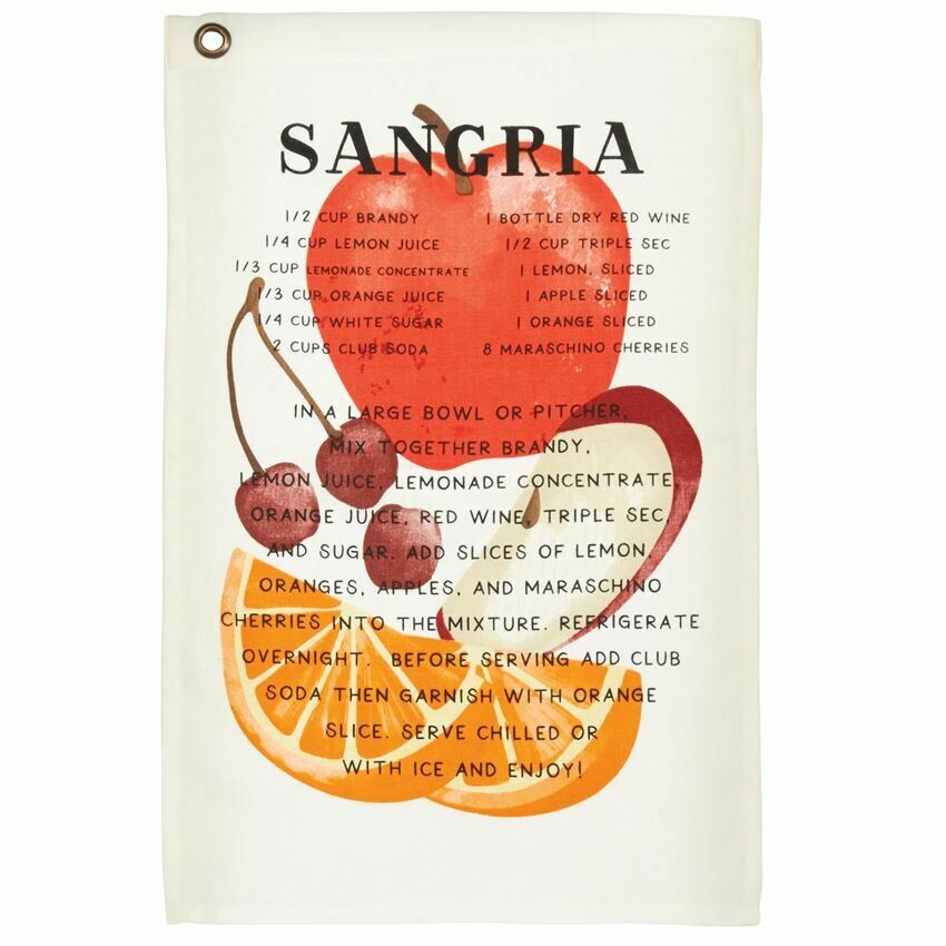 MP Drink Recipe Towel - Sangria