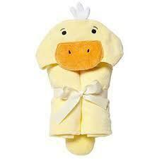 EB baby bath wrap - duck