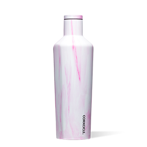 Corkcicle Canteen 25 oz - Pink Marble