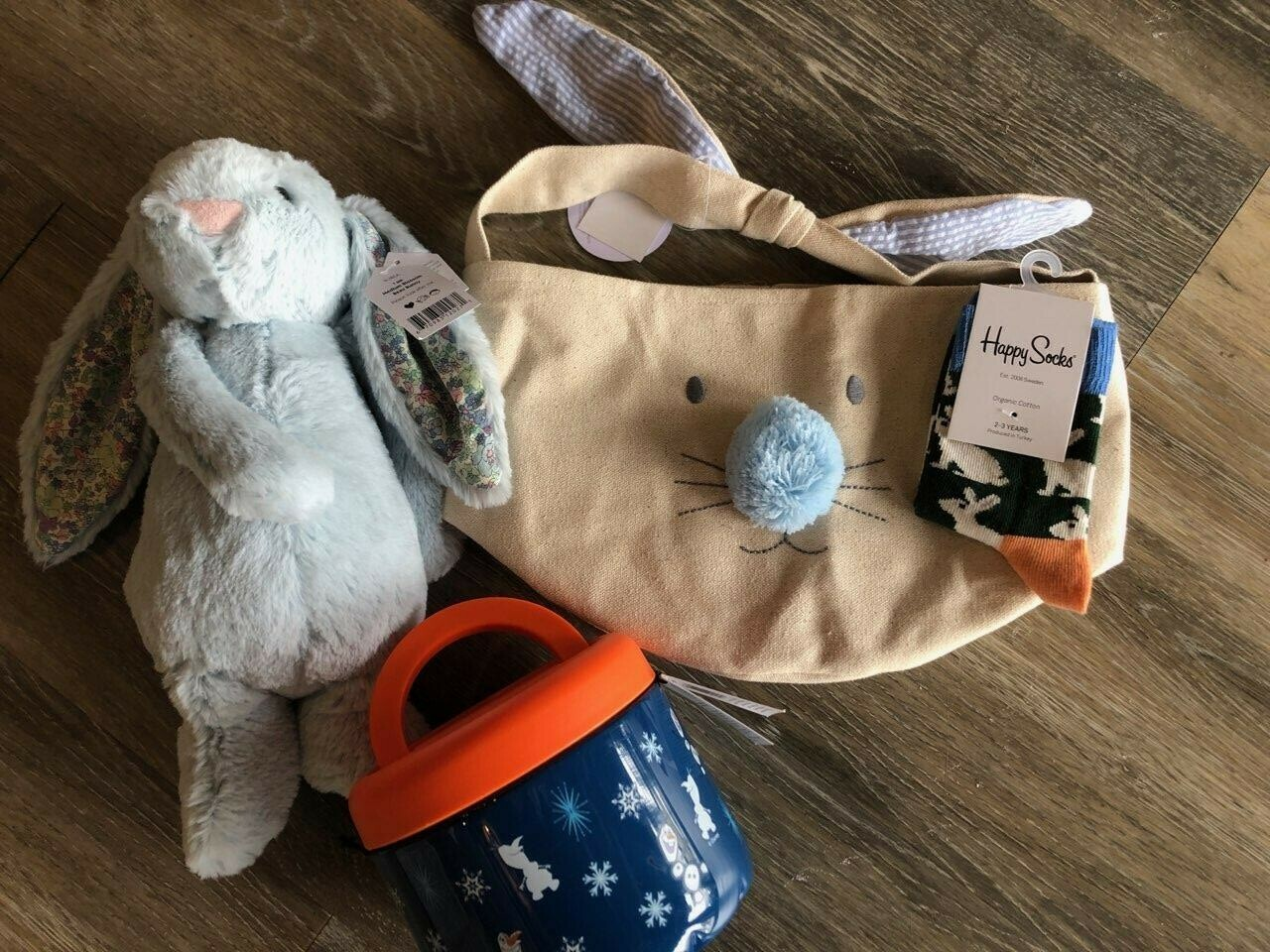 Kid's Easter Basket - Blue