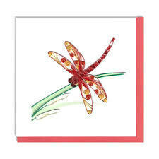 Quilling Cards - dragonfly