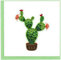 Quilling Cards - Prickly Pears Cactus