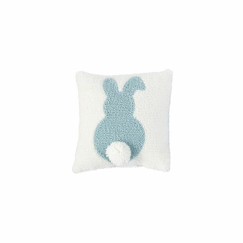 Easter Mini Hook Pillow - Blue Bunny