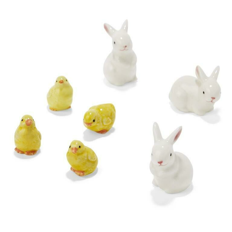 Bunny Chick Figurines
