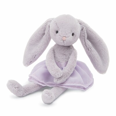 Lilac Arabesque Bunny