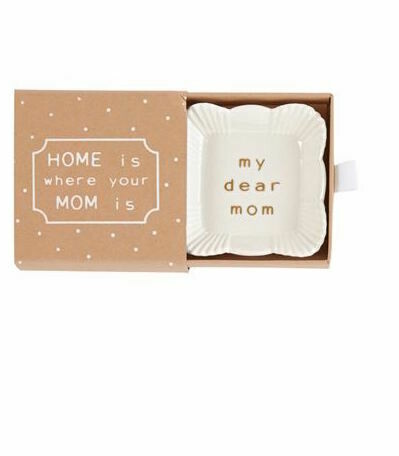 MP Mom trinket dish - square