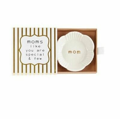 Mom trinket dish - circle