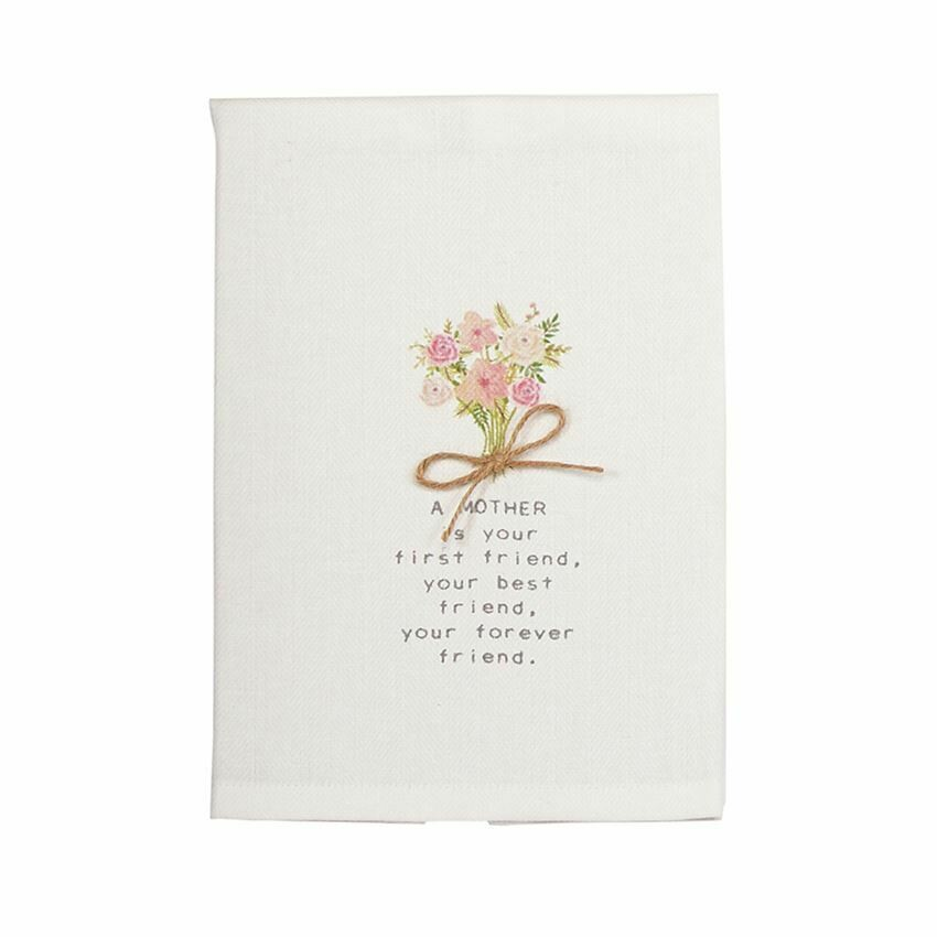 MP floral towel - mom floral