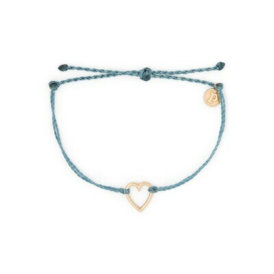 PV Heart Charm Bracelet  - DUSB