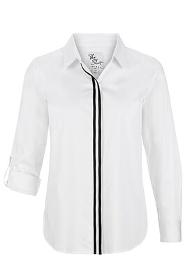 Tribal White Button Up Shirt