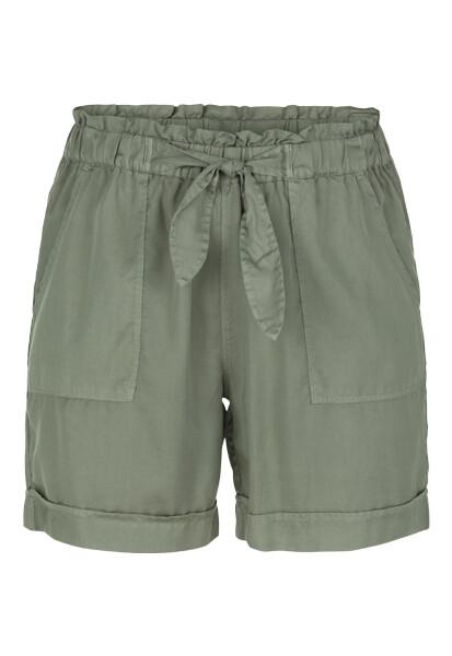 Tribal Lt. Cactus Tie Shorts