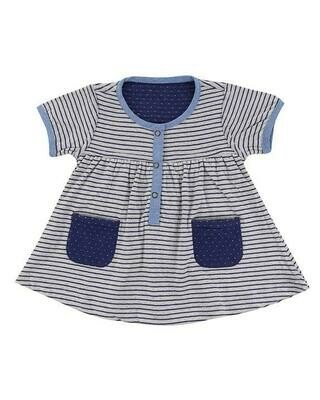 Lilly & Sid Reversible Stripe Dress