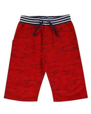 LS Red Shark Shorts