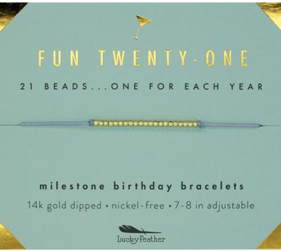 Milestone bracelet - 21