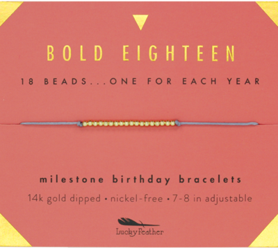 LF Milestone bracelet - 18
