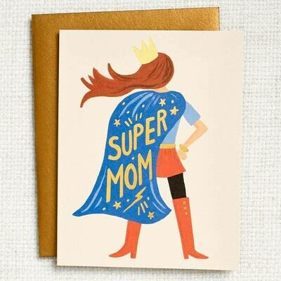 Rifle Paper Super Mom Card