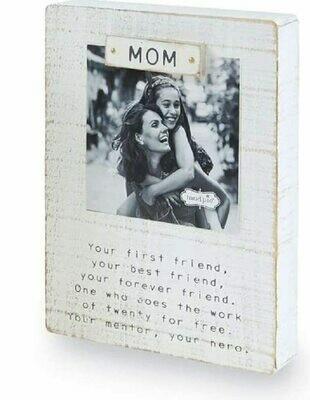 MP Mom magnet frame