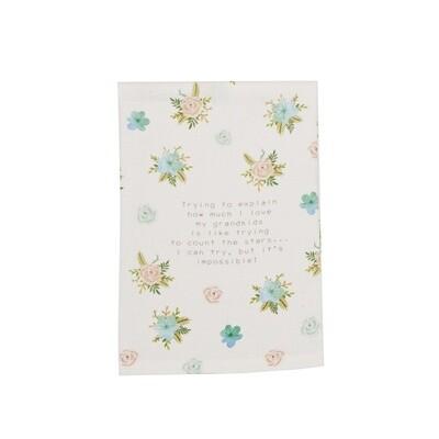MP floral towel - Grandma floral