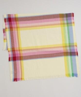 Echo Rainbow Plaid Oblong