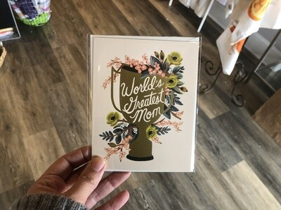 RIfle Paper Mom Trophy Card
