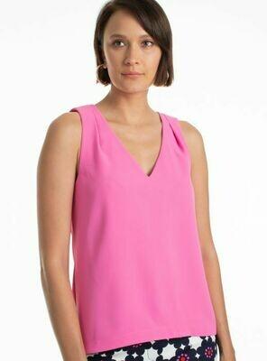 Trina Turk View Top Pink - L