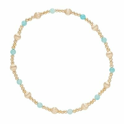 eNew Dignity Sincerity Pattern 4mm amazonite