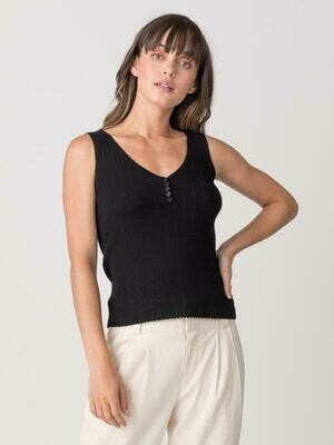 Margaret O'Leary Gibson Tank Black