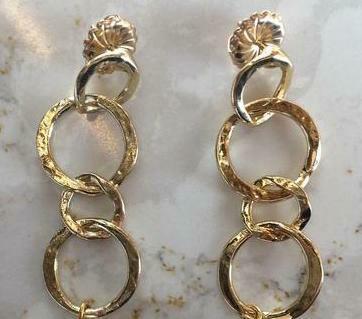 SecondDaughter Gold Links Earrings