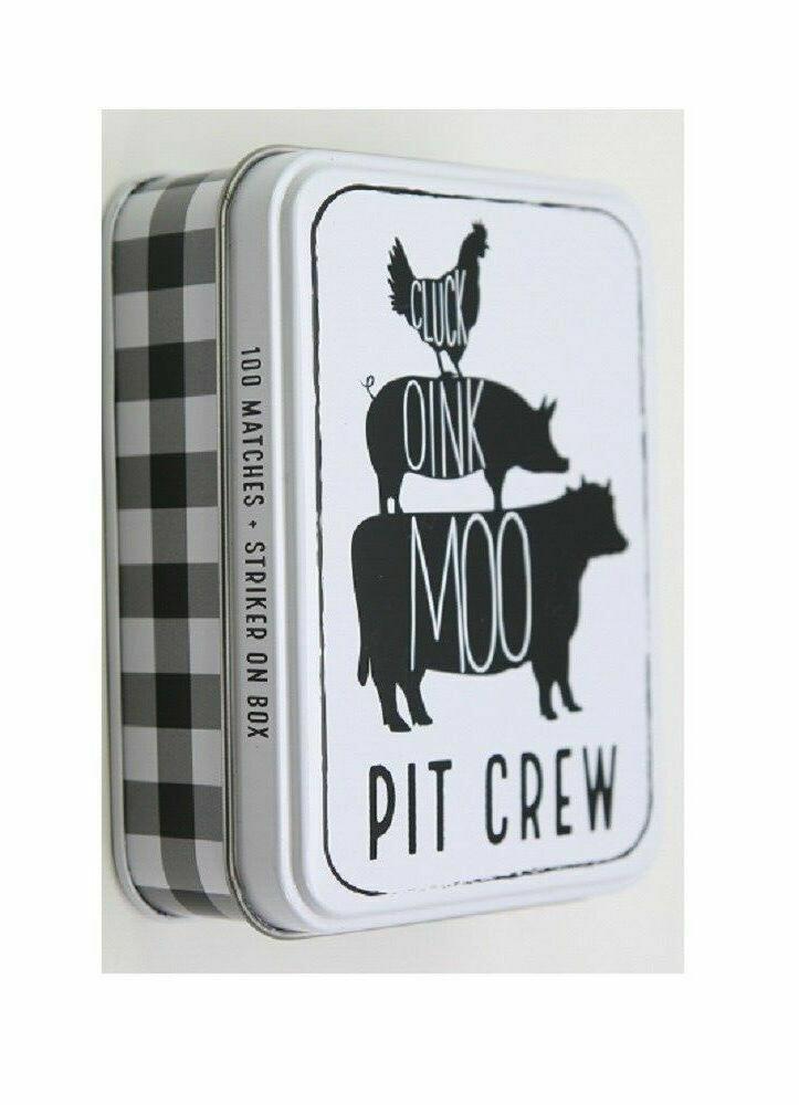 MP Tin Matchbox set - chicken