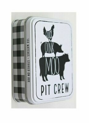 MP Tin Matchbox set - chicken