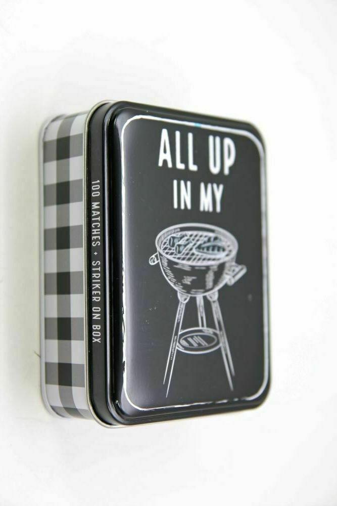 MP Tin Matchbox set - grill