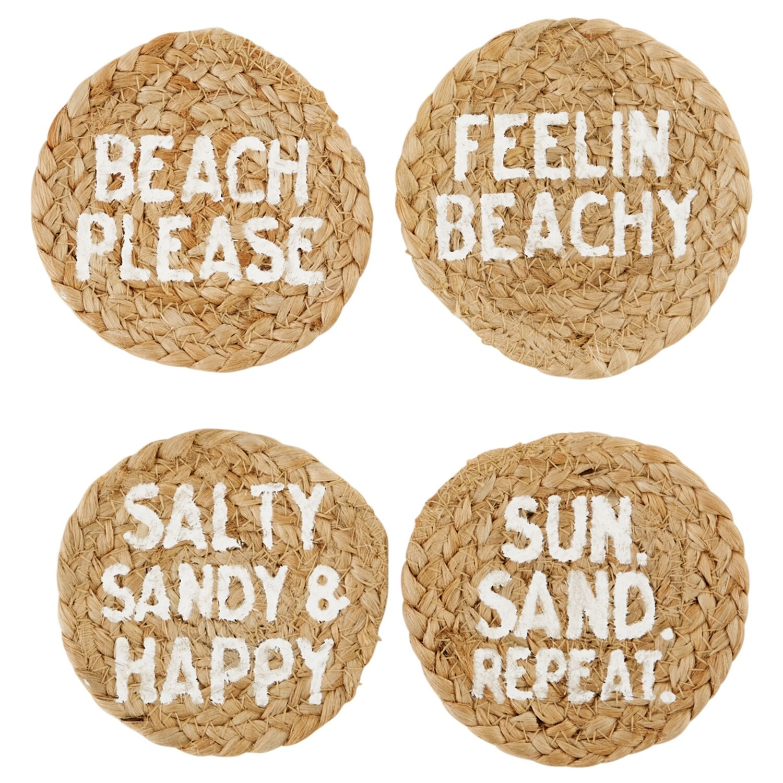 MP Beach Jute Coasters