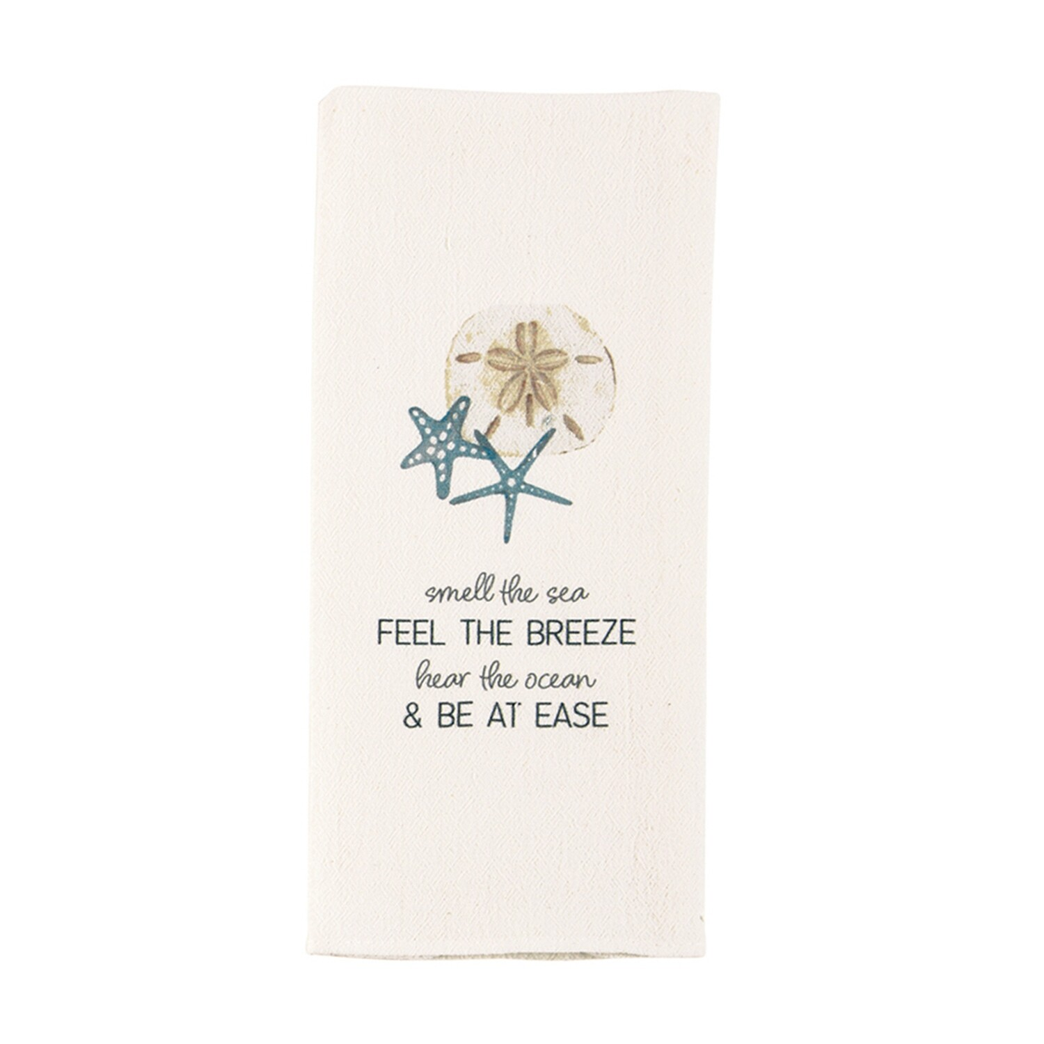 MP Shell Towel - sea watercolor