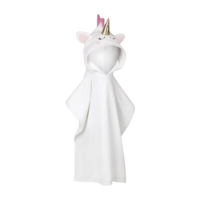 SL kids hooded beach towel - unicorn