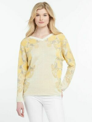 NZ Lemons Reversible Sweater S201165