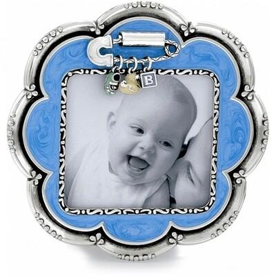 Brighton baby love frame - blue