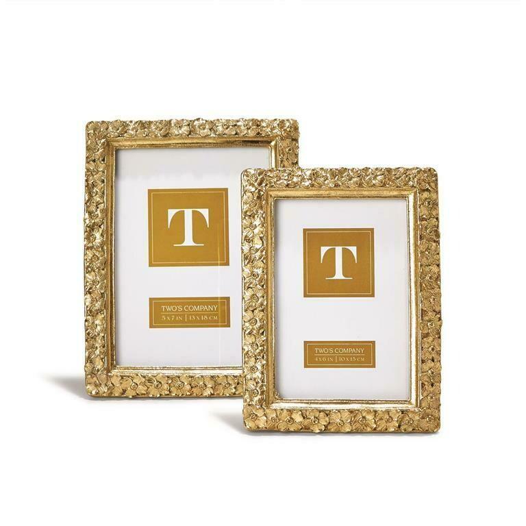 Gold Flower Frame - 4x6
