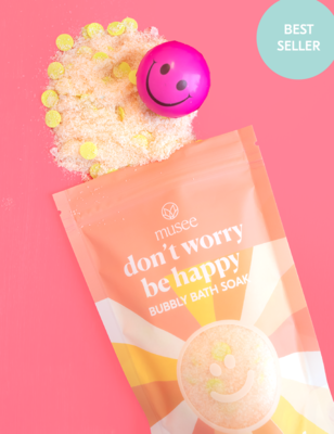 Musee Bath Soak - Don't Worry Be Happy
