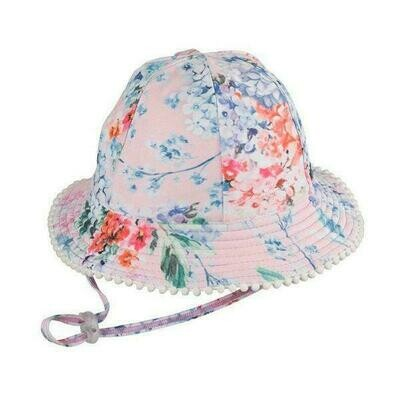 Millymook Floral Baby Girls hat