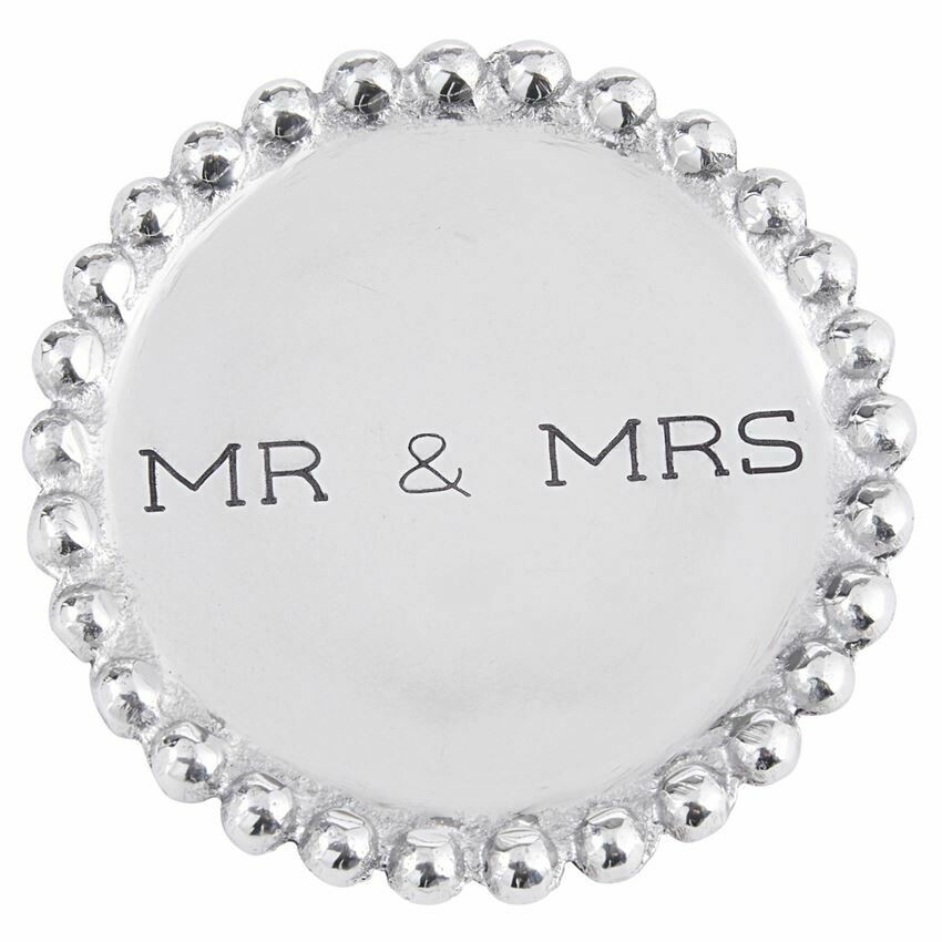 MP Mr & Mrs Beaded Coasters