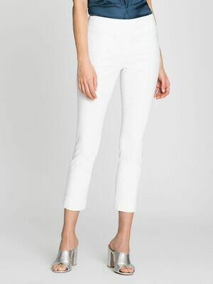 Nic + Zoe Crop White Wonderstretch Pant