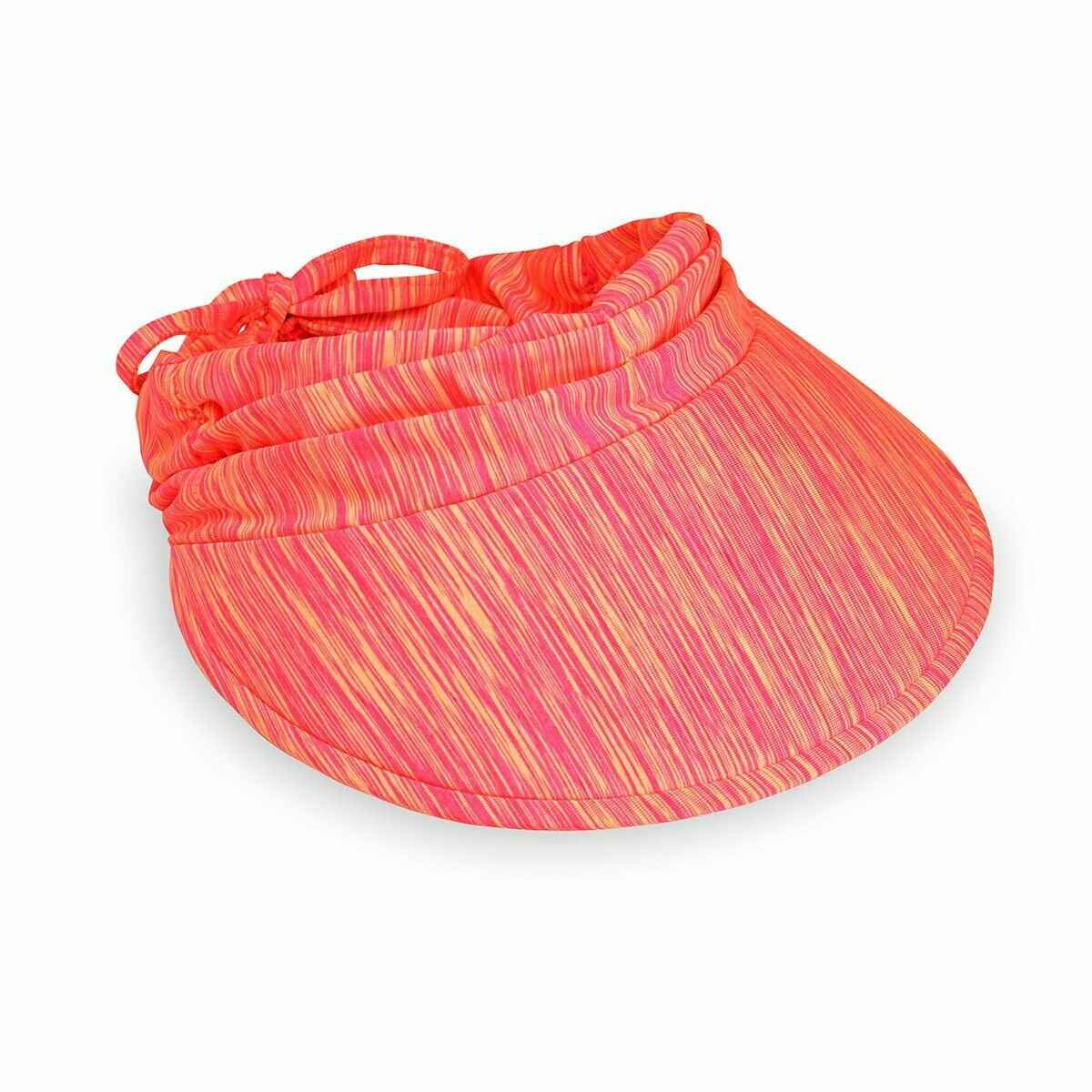 Wallaroo Aqua Visor - Pink/Orange