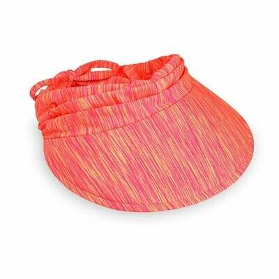 Wallaroo Aqua Visor - Pink/Orange
