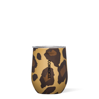Corkcicle Stemless - 12oz Luxe Leopard